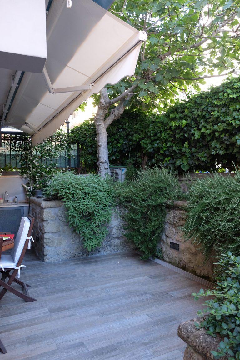 progetto casa e giardino ampliamento zona pranzo esterna piante arredo sistemazione del verde