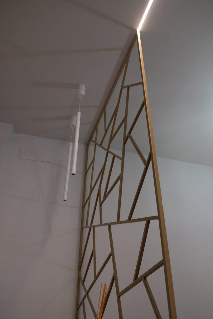 casa su misura pannello decorativa ingresso idee design