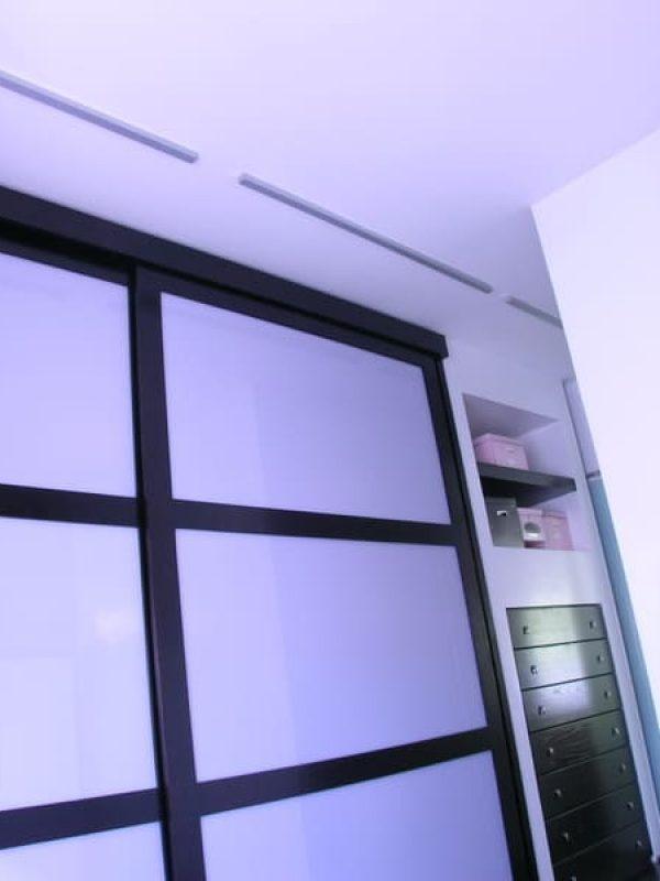parete camera padronale mobili su misura progetto parete mobili a filo muro