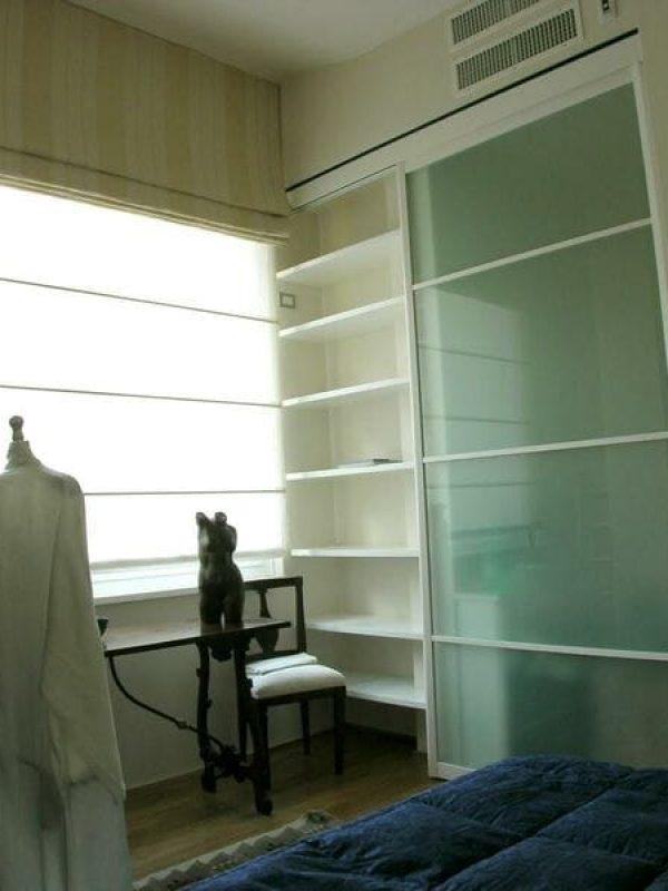 camera ospiti cabina armadio anta scorrevole Rimadesio