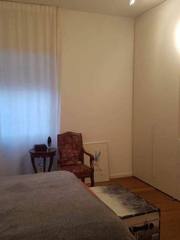 architetto Roma ristrutturazione camera da letto armadio parete attrezzata